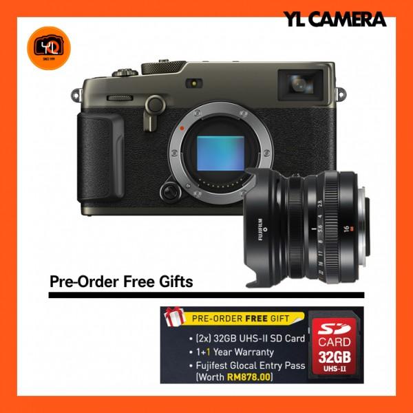 (Pre-Order) Fujifilm X-Pro 3 + XF 16mm F2.8 R WR (Dura Black)