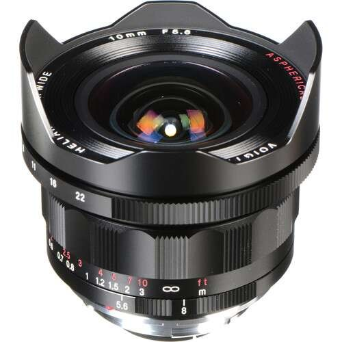 Voigtlander Heliar-Hyper Wide 10mm F5.6 Aspherical Lens (For Leica M-Mount)