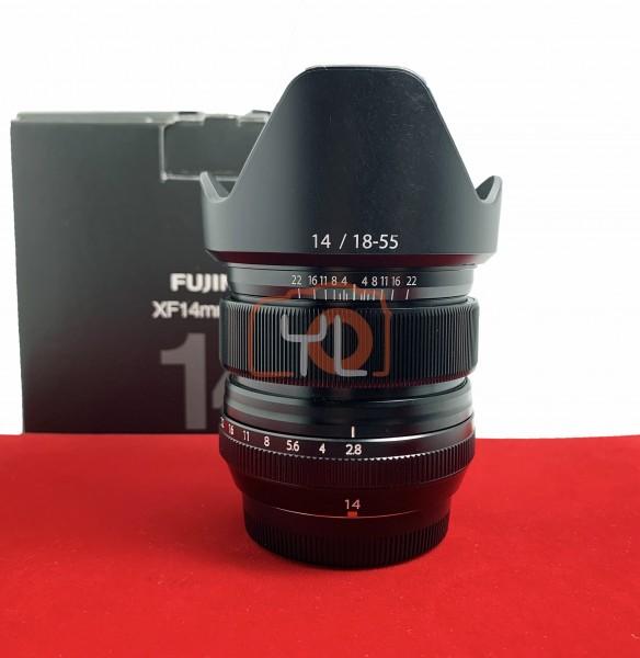 [USED-PJ33] Fujifilm 14MM F2.8 R XF, 95% Like New Condition (S/N:38A01603)