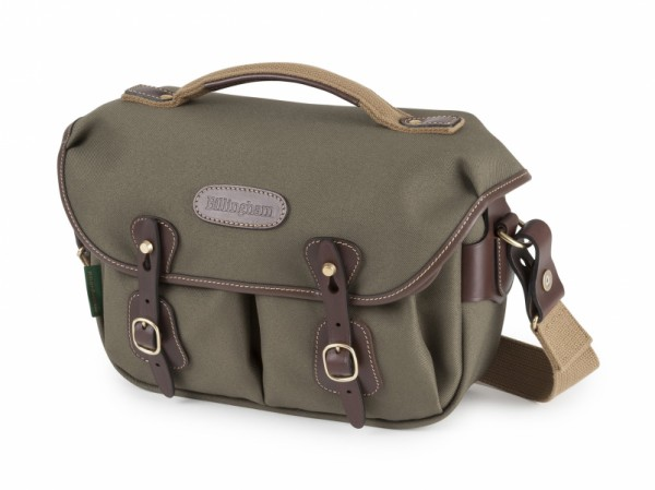 Billingham Hadley Small Pro Camera Bag (Sage FibreNyte / Chocolate Leather)