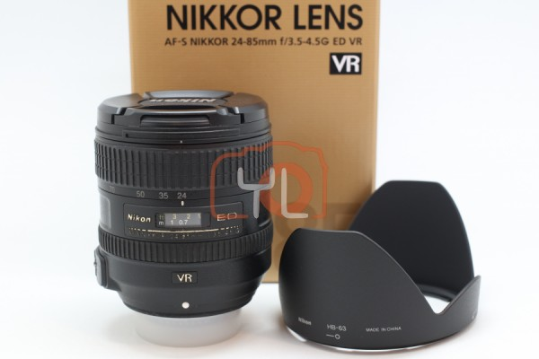[USED-PUDU] Nikon 24-85mm F3.5-4.5G AFS VR  85%LIKE NEW CONDITION SN:2005166