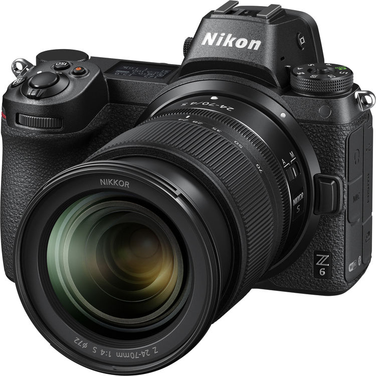 (Promotion) Nikon Z 6 + Z 24-70mm F4 S [Free 32GB XQD Card & XQD Card Reader & Camera Bag] (Online Redemption 1 Year Extended Warranty)