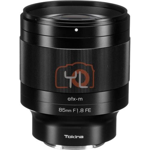 Tokina atx-m 85mm f1.8 FE Lens for Sony E
