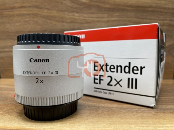 [USED @ YL LOW YAT]-Canon Extender EF 2x III,98% Condition Like New,S/N:8400001828