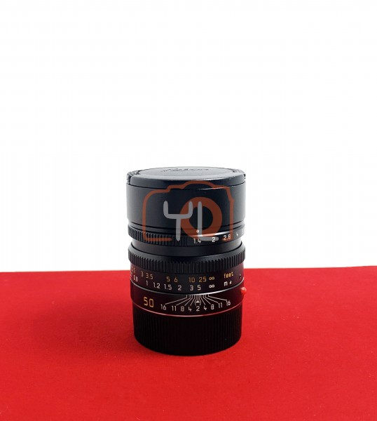 [USED-PJ33] Leica 50MM F1.4 Summilux-M ASPH 6BIT, 90% Like New Condition (S/N:4069162)
