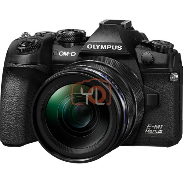 Olympus E-M1 Mark III + M. Zuiko 12-40mm F2.8 PRO [Online Redemption Extra Battery + 32GB SD Card UHS-II + 13 Months Extended Warranty]
