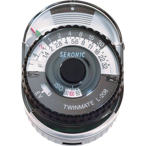 (Pre-Order) Sekonic L-208 Twin Mate - Analog Incident and Reflected Light Meter