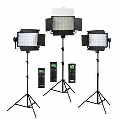 Godox LED500C LED 3 Light Kit Set