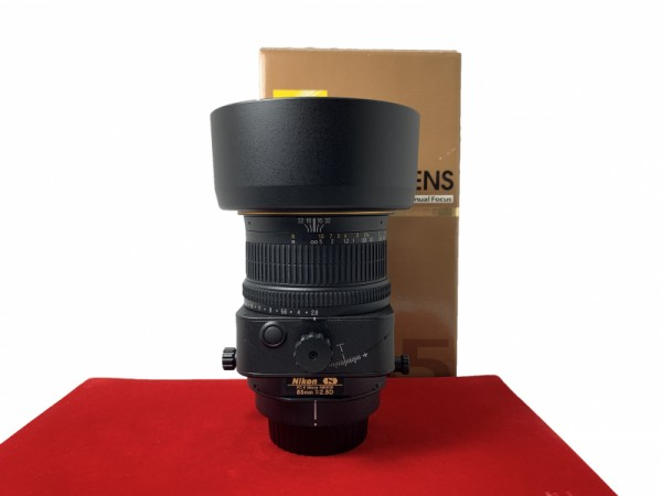 [USED-PJ33] Nikon 85MM F2.8D PC-E Micro (Tilt-Shift), 95% Like New Condition (S/N:204847)