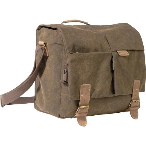 National Geographic NG A2560 Africa Series Medium Satchel (Brown)
