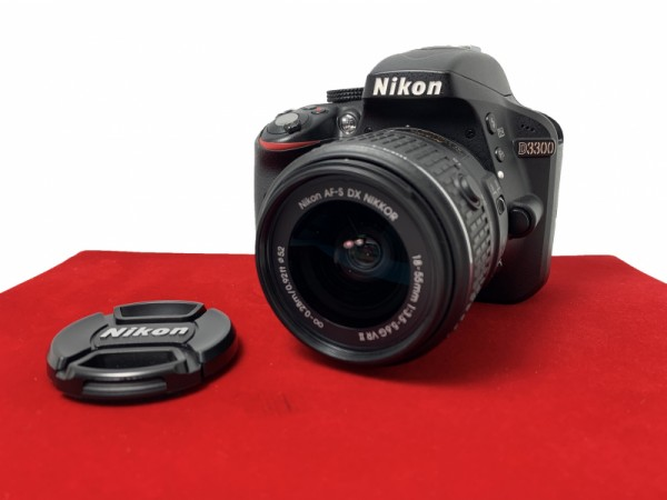 [USED-PJ33] Nikon D3300 Kit (18-55MM F3.5-5.6 G II DX AFS VR), 95% Like New Condition (S/N ;6610981)