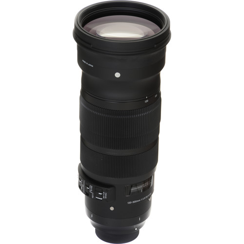 Sigma 120-300mm F2.8 DG OS HSM Sports (Canon)