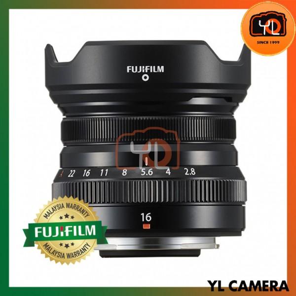 Fujifilm XF 16mm F2.8 R WR - Black
