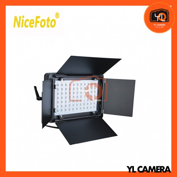 NiceFoto LED-880A 3200K-6500K Adjustable Color Temperature LED Video Light