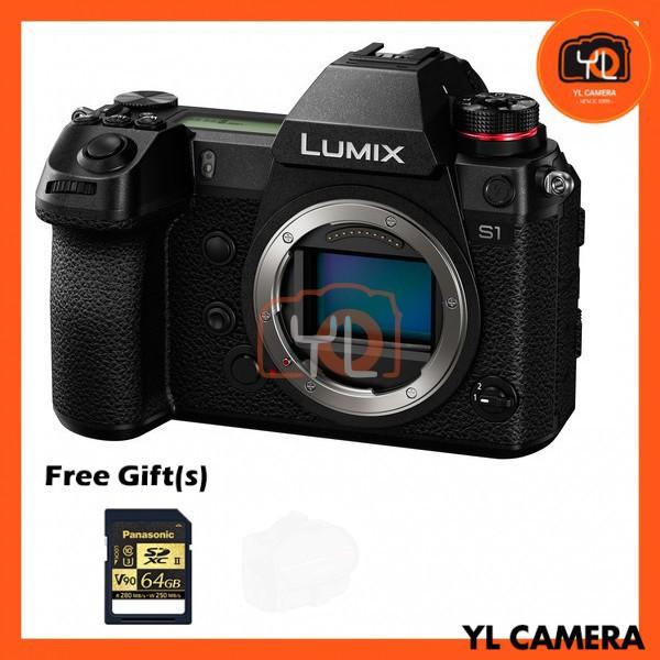Panasonic Lumix DC-S1 (Body) [Free Panasonic 64GB SD Card]