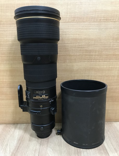 (USED YL LOW YAT)-Nikon AF-S 500mm F4G VR ED N Nikkor Lens,90% Condition Like New,S/N:200963