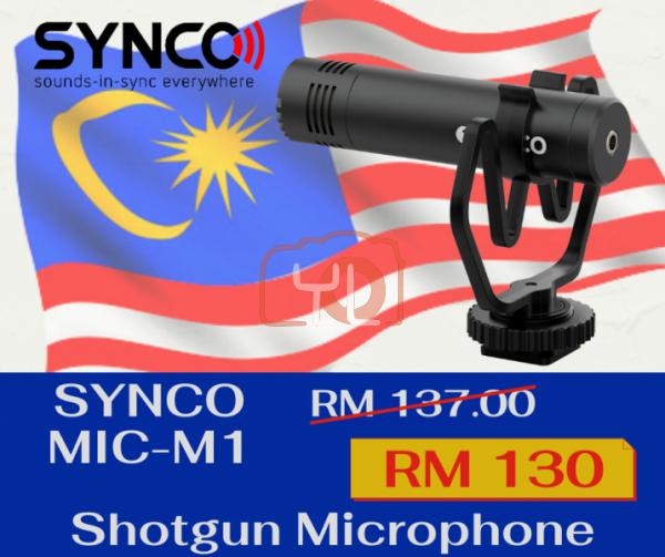 Synco Audio Mic-M1 On-Camera Shotgun Microphone