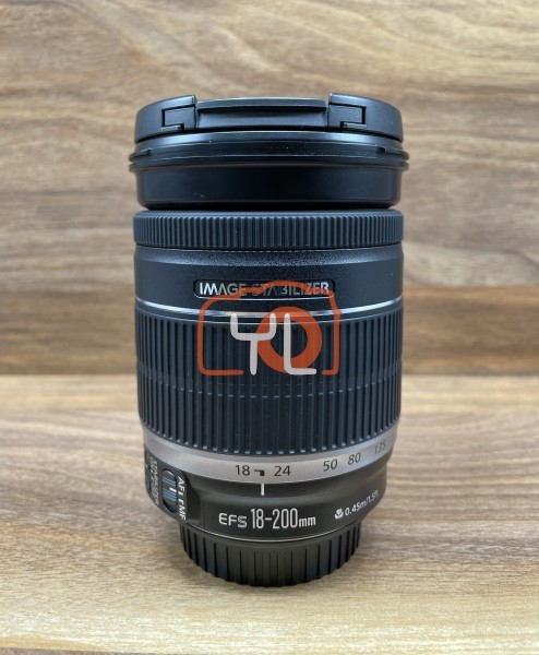 [USED @ YL LOW YAT]-Canon EF-S 18-200mm F3.5-5.6 IS Lens,90% Condition Like New,S/N:3392100081