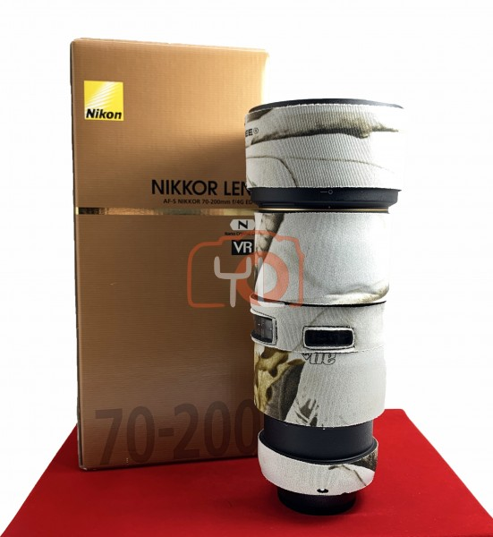 [USED-PJ33] Nikon 70-200mm F4 G VR AFS, 90% Like New Condition (S/N:82008927)