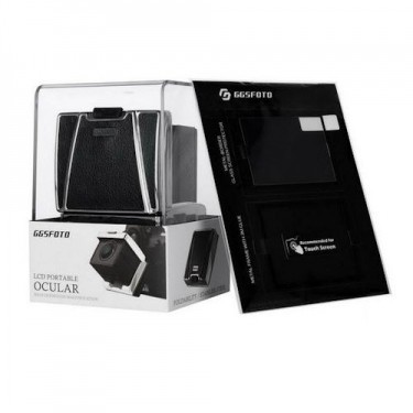 GGSFOTO LCD Ocular viewfinder Wiht Screen Protector MJ-S1 Fro A7ll A7 A7Sll A7lll A7Rlll A9