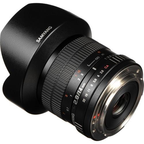 Samyang 14mm F2.8 ED AS IF UMC Lens for Canon M Mount