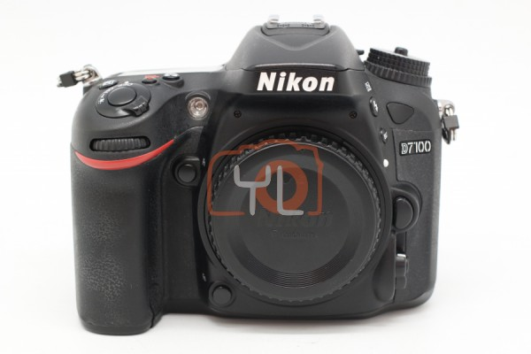[USED-PUDU] NIKON D7100 CAMERA BODY 85%LIKE NEW CONDITION SN:2047432