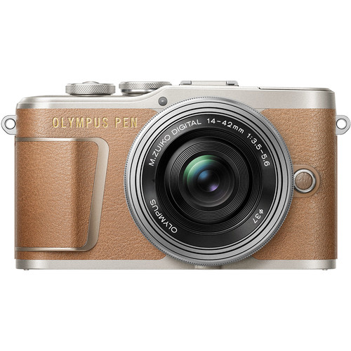 (RAYA PROMO) Olympus E-PL9 +  M.Zuiko 14-42mm EZ (Brown) [Free M.Zuiko 45mm F1.8]