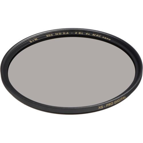B+W 43mm XS-Pro MRC-Nano 802 ND 0.6 Filter (2-Stop)