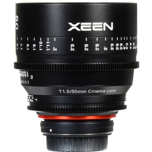 Samyang Xeen 50mm T1.5 Lens for Micro Four Thirds Mount