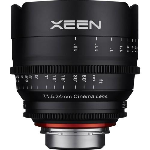 Samyang Xeen 24mm T1.5 Lens for PL Mount