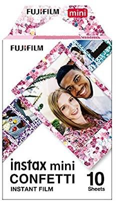 Fujifilm INSTAX Mini Instant Films (Confetti)