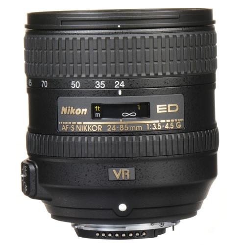 Nikon 24-85mm F3.5-4.5G AF-S VR