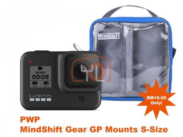 GoPro HERO8 Black (PWP MindShift Gear GP Mounts S-Size)