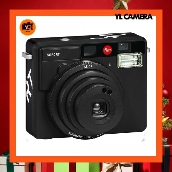 (Gift Idea) Leica Sofort Instant Film Camera 19111 (Black)