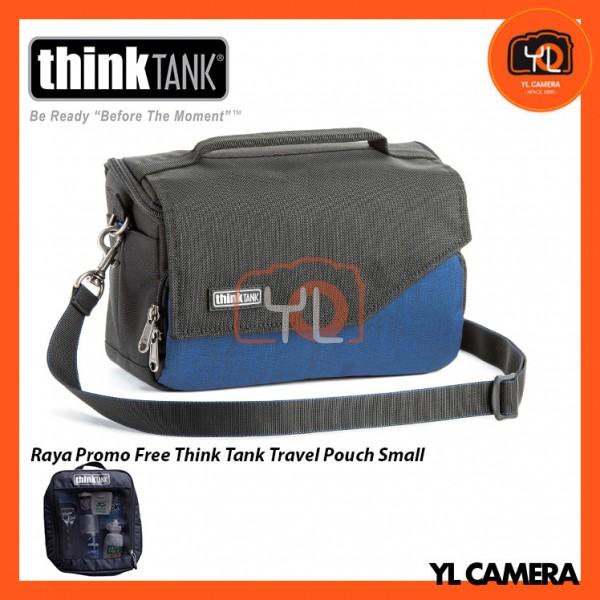 Think Tank Photo Mirrorless Mover 20 Camera Bag (Dark Blue)  Free Think Tank Photo Travel Pouch - Small