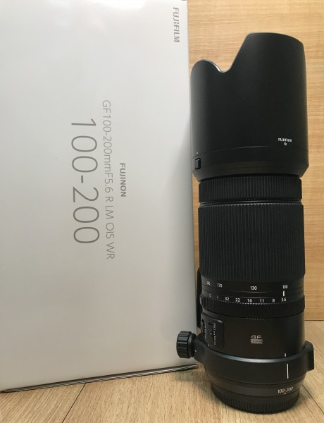 [USED @ YL LOW YAT]-Fujifilm GF 100-200mm F5.6 R LM OIS WR For GFX Lens,98% Condition Like New,S/N:96C01188