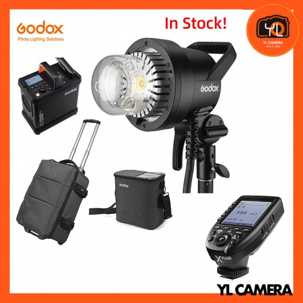 Godox AD1200Pro Battery Powered Flash System With XPro TTL Wireless Flash Trigger for Nikon Combo Set