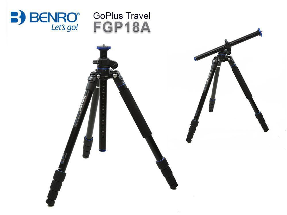 Benro FGP18A Go Plus 4-Section Aluminum Travel Tripod