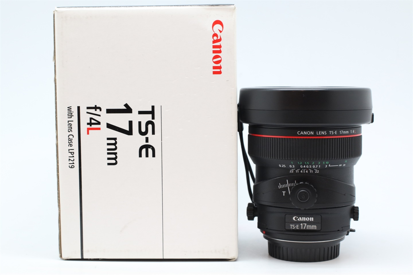 [USED-PUDU] CANON 17MM F4 L TS-E LENS 90%LIKE NEW CONDITION SN:19254