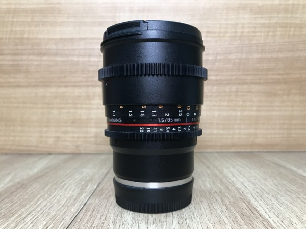 [USED @ YL LOW YAT]-Samyang 85mm T1.5 AS IF UMC II Lens For Sony Emount,90% Condition Like New,S/N:CAP25677