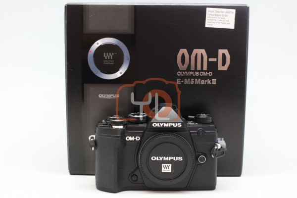 [USED-PUDU] Olympus OM-D E-M5 Mark III Camera Body (Black) 99%LIKE NEW CONDITION SN:BJ9A07934
