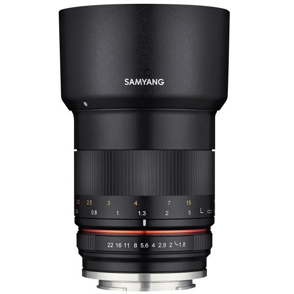 Samyang 85mm F1.8 Lens for Fujifilm X