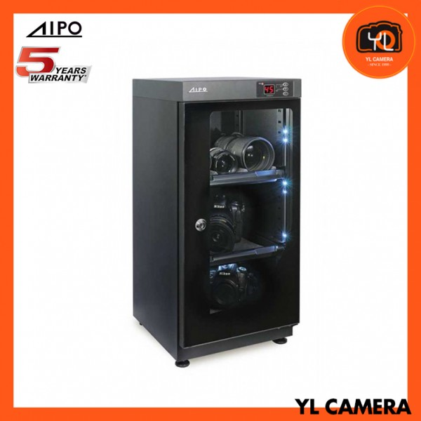 AIPO Digital Series AP-48EX Dry Cabinet (48L) (New with LED Light!)