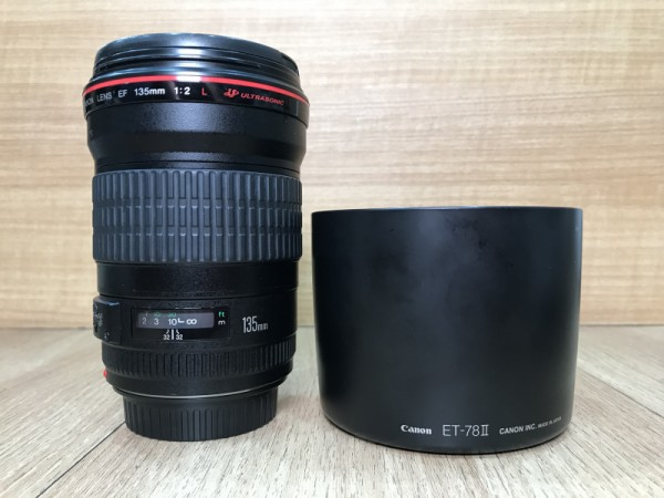 [USED @ YL LOW YAT]-Canon EF 135mm F2 L USM Lens,90% Condition Like New,S/N:203311