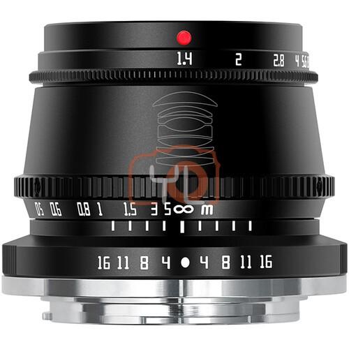 TT Artisan 35mm F1.4 APSC Lens (Black)