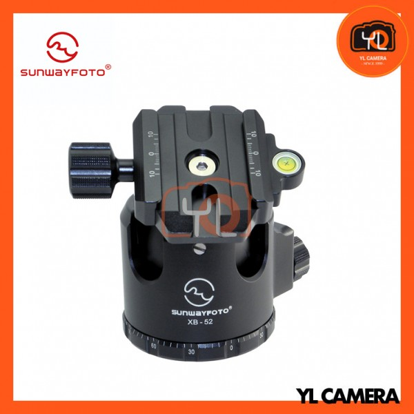 Sunwayfoto XB-52 Low Profile Ball Head