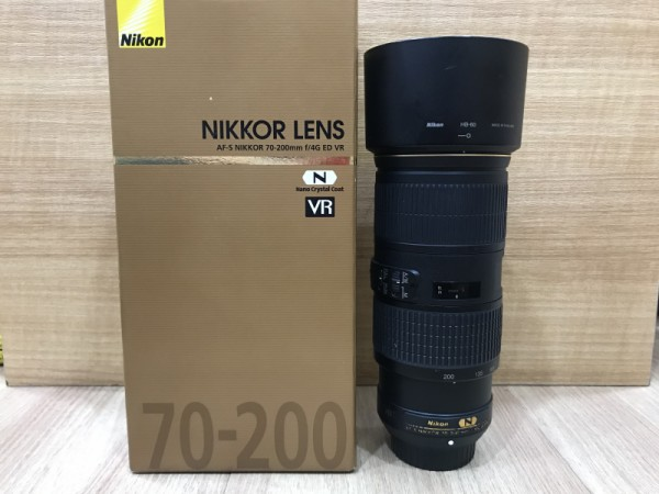 (USED YL LOW YAT)-Nikon AF-S 70-200mm F4G ED Nikkor Lens,88% Condition Like New,S/N:82017355