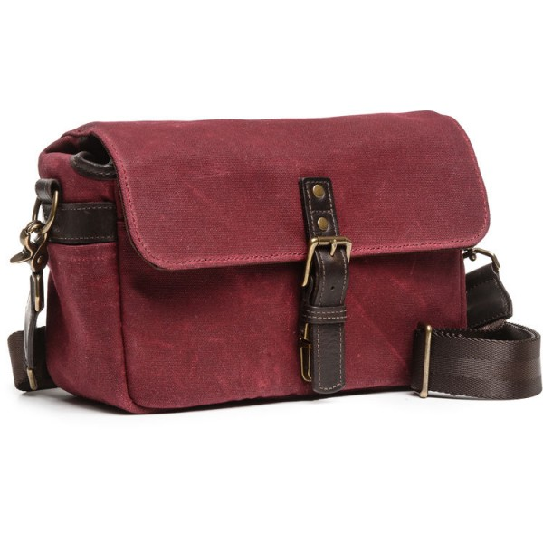 ONA Bowery Camera Bag (Canvas, Crimson)