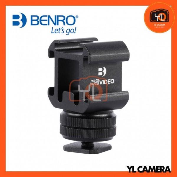 Benro MeVIDEO Livestream Triple Cold Shoe Adapter