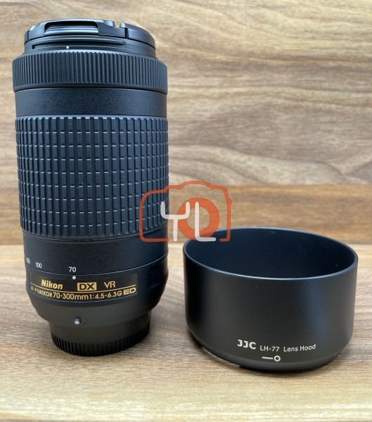 [USED @ YL LOW YAT]-Nikon AF-P 70-300mm F4.5-6.3G ED VR DX Lens,95% Condition Like New,S/N:20305803